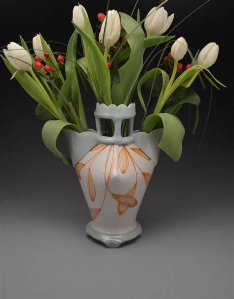 How To Throw A Vase by How To Throw A Vase On The Pottery Wheel Ceramic Arts Daily