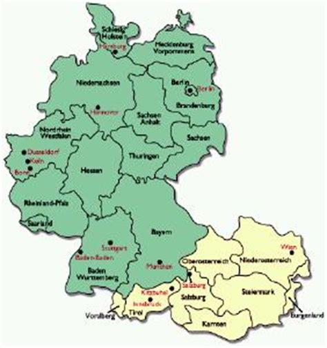 austria germany map palm os