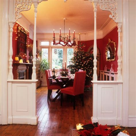 Dining Room In Entrance Festive Dining Room Entrance Step Inside This Cosy