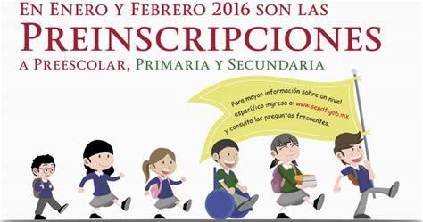preinscripciones 2016 2017 coahuila preinscripciones primaria y secundaria periodo 2016 2017