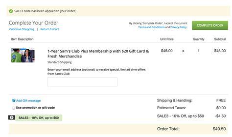 Sam S Club Gift Card Sale - home 1 yr sam s club plus w 20 gc 41 143 value led solar motion sensing