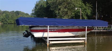 hewitt boat lift canopy hewitt flared end boat lift canopy 22 x 100 quot