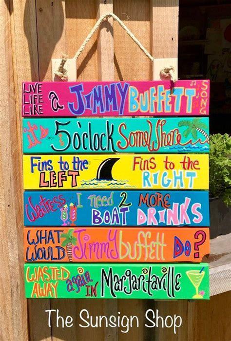 life   jimmy buffett song sign outdoor bar