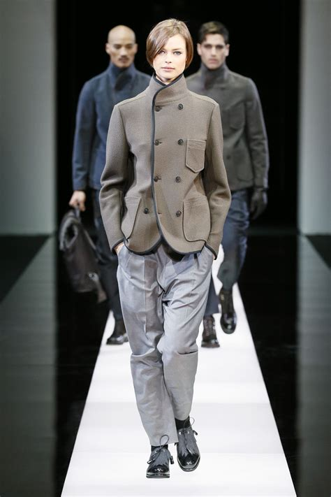 Catwalk To Carpet In Giorgio Armani by Giorgio Armani Fall Winter 2015 16 S Collection The