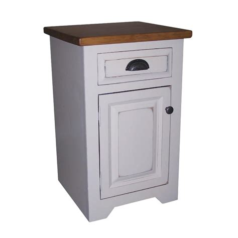 Painted Armoires True North Night Stand Home Envy Furnishings Solid Wood