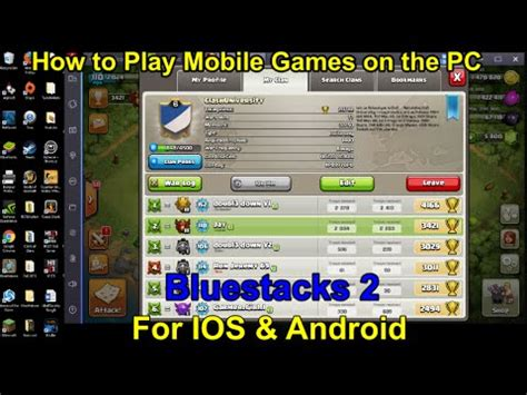 bluestacks ios bluestacks 2 how to play mobile games on pc for ios