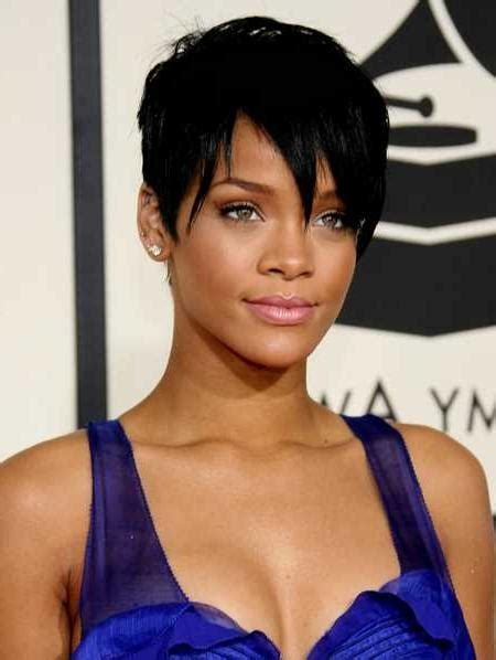 Rihanna Weave Hairstyles by 15 Collection Of Rihanna Bob Hairstyles With Weave