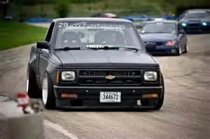 chevy s10 drift minitruck car garage