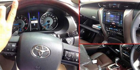 Airbag Penumpang Inova Fortuner Hilux New Nego intip spesifikasi tertinggi innova baru punya 7 airbag kompas