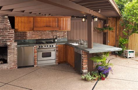 Outside Kitchen Designs Pictures Design An Outdoor Kitchen Online Perfect Kitchentoday
