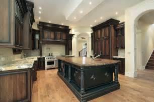 Stain Kitchen Cabinets Darker by Staining Kitchen Cabinets Dark Brown Kitchen