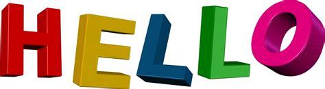 Hello Clip hello clip text free stock photo domain pictures