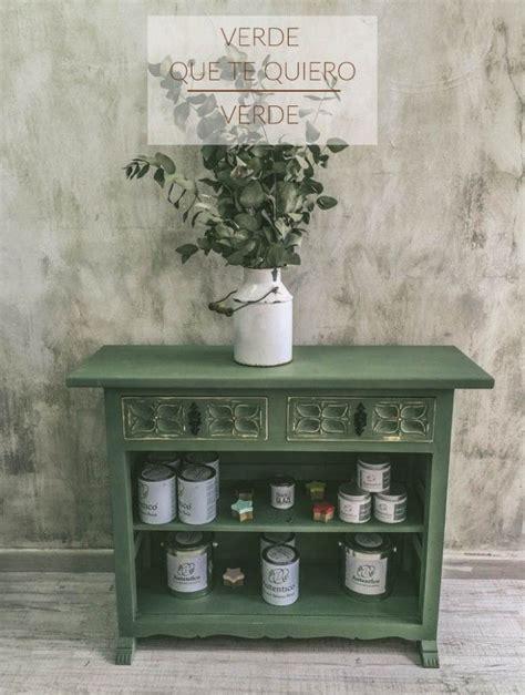 mueble verde oliva chalk paint cocina muebles verdes