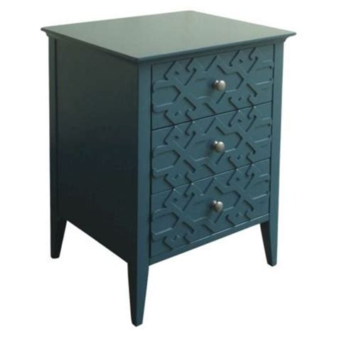 Teal Accent Table Threshold Fretwork Accent Table Master Bedroom Guest Rooms Teal Blue And Greys A