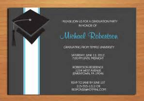 college graduation invitation wording a birthday cake