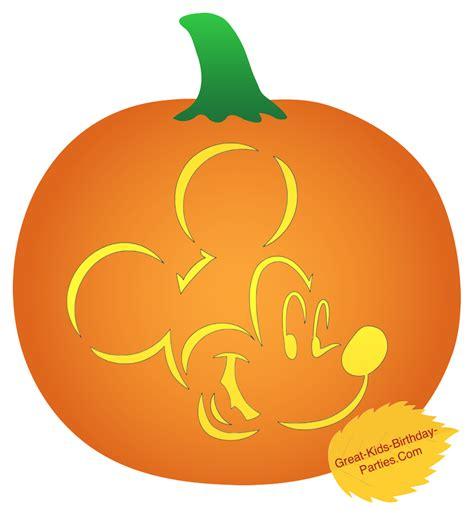 vire mickey mouse pumpkin template pumpkin stencils