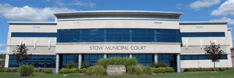 Summit County Municipal Court Records Search Stow Municipal Court