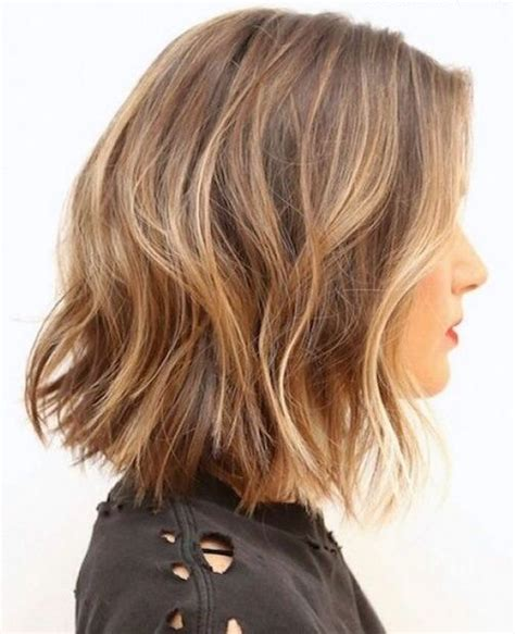 deconstructed bob medium haircuts for fine thin hair 2015