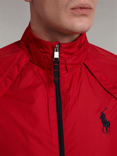 Ralph Jacke by Ralph Golf Convertible Golf Windbreaker Jacket In