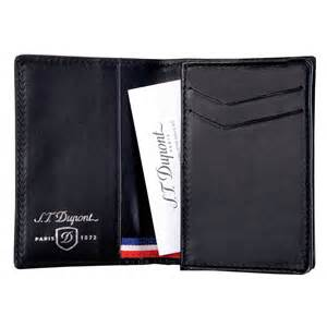 wallet with business card holder st dupont defi black carbon business card holder wallet