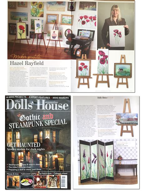 the dolls house magazine art in wax 187 painting projects
