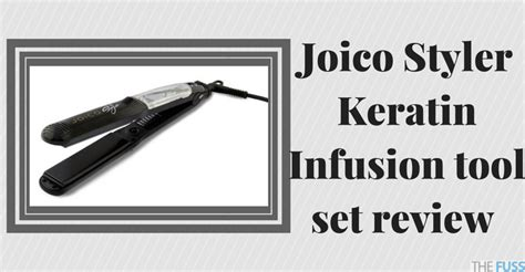 Infusion Hair Styler Brush by Joico Styler Keratin Infusion Tool Set Review The Fuss