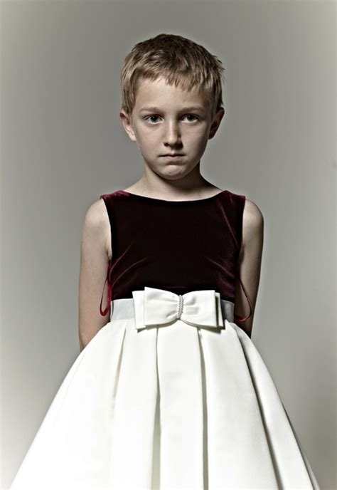 boys in dresses pinterest feminine boys in dresses quot white satin bow quot 2012