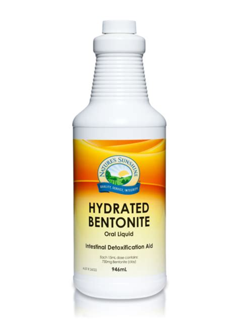 Bentonite Liquid Detox by Digestive Health Nature S Products Of Australia