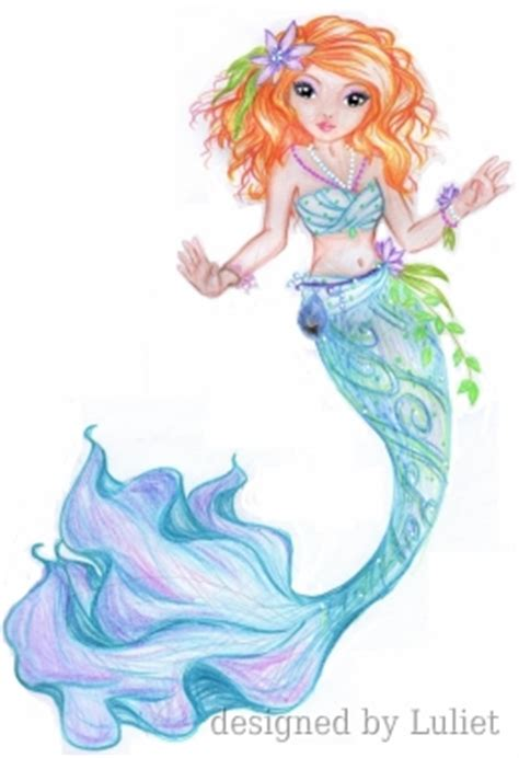 quot mermaid quot design drawn by luliet topmodel