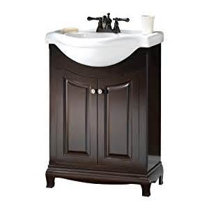 bathroom vanities with sinks included foremost paea2534 palermo bath vanity with china top