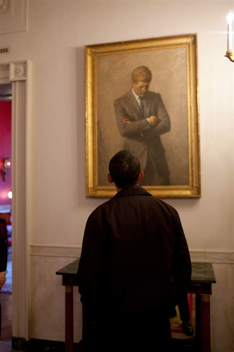 portrait house file barack obama looking jfk portrait jpg wikimedia commons