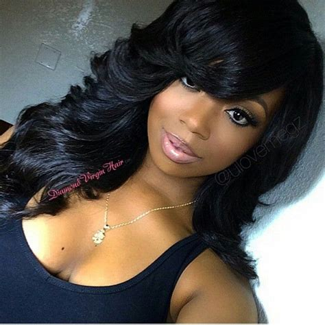black sew in human hair 85 best images about full sew in on pinterest sew in
