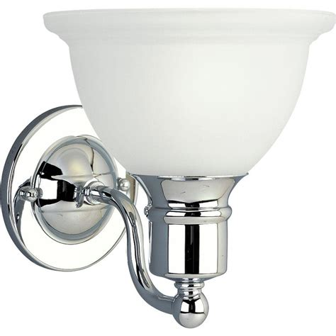 bathroom lighting fixtures chrome progress lighting madison collection 1 light polished
