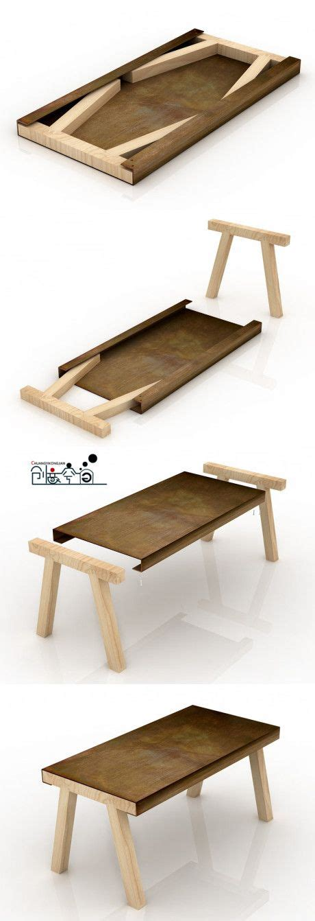 flatpack furniture genius flat pack table this would be great for a tiny house