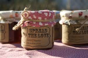 Wedding Favors Jam Jars by 18 Spread The Jam Favour Stickers Wedding In A Teacup