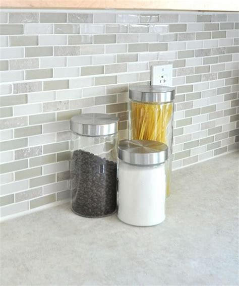 gray glass mosaic tiled backsplash transitional bathroom glass tiles glass tile backsplash and tile on pinterest