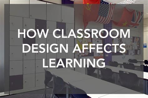 does classroom layout affect learning school environment and learning envoplan