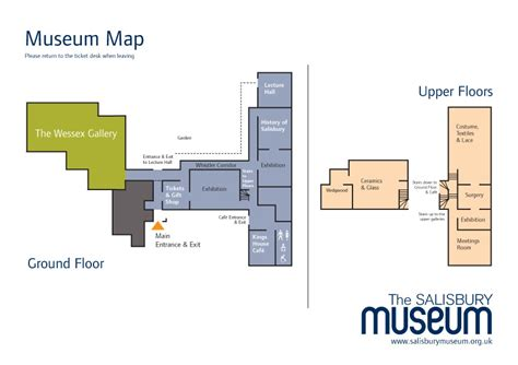 Floor Plan Of Museum | museum floor plan the salisbury museum
