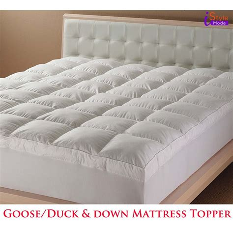 Mattress Topper Hotel Quality by New Luxury Hotel Quality Goose Duck Feather