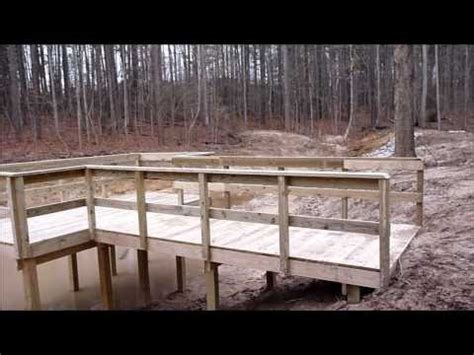 How To Build A Wooden Dock Crib by Building A Crib Dock How To Save Money And Do It Yourself