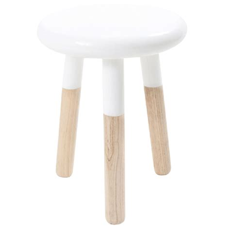 White Stool by Leo Malmo Stool White