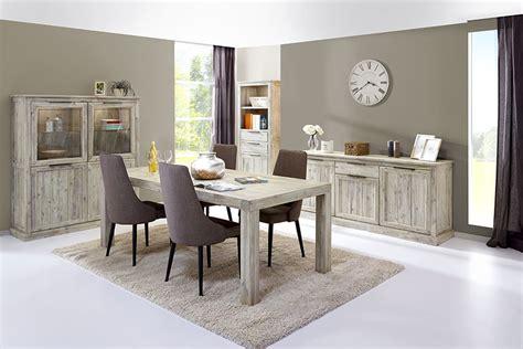 Beige Dining Room by Meubles De Salle Manger Couleur Acacia Gris Contemporains