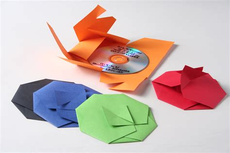 Origami Cd Holder - paper metal plastic by alisdair cassells at coroflot