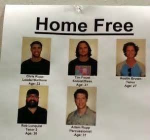 home free the sing off finale winners home free pop some bubbly