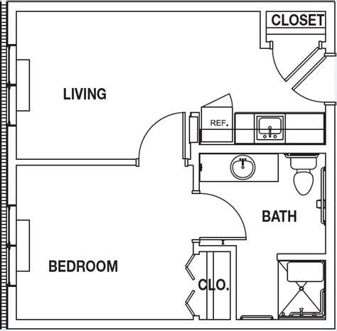 1 S Addition Floor Plans - one room home addition plans floor plan b one bedroom