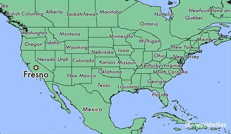 california map fresno where is fresno ca fresno california map worldatlas