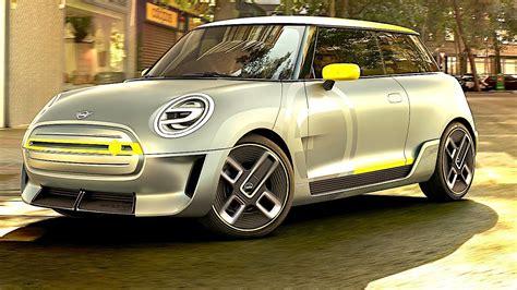 mini car electric new mini electric 2018 design electric car concepts 2018