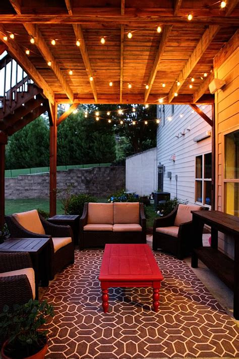 patio lights 5fa173a8639ed0b795dc42a3d5f4823d chic outdoor patio string lighting ideas dining room