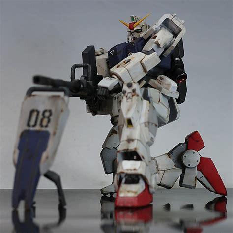 Hg Rx79 Ground Type Gundam Hguc Rx 79 G Gundam Ground Type Customized