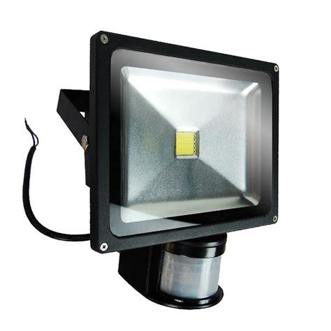 Led Flood Light 50w 10w 20w 30w 50w pir motion sensor led flood light spotlight outdoor day white ebay